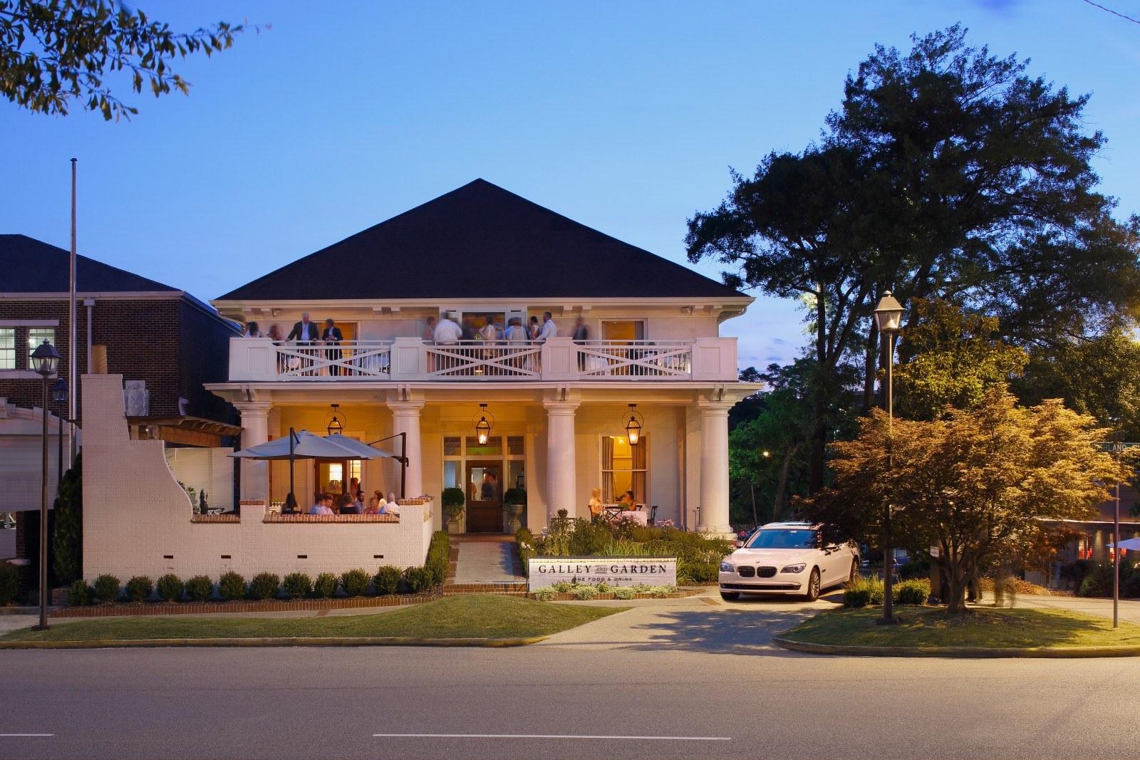 Galley Garden Restaurant Birmingham Al Jeffrey Dungan Architects